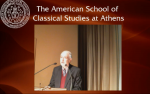 Alan Shapiro speaking at ASCSA