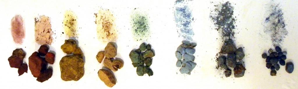 Roman pigments