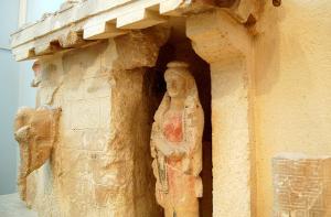Archaic pediment-Athenian Acropolis