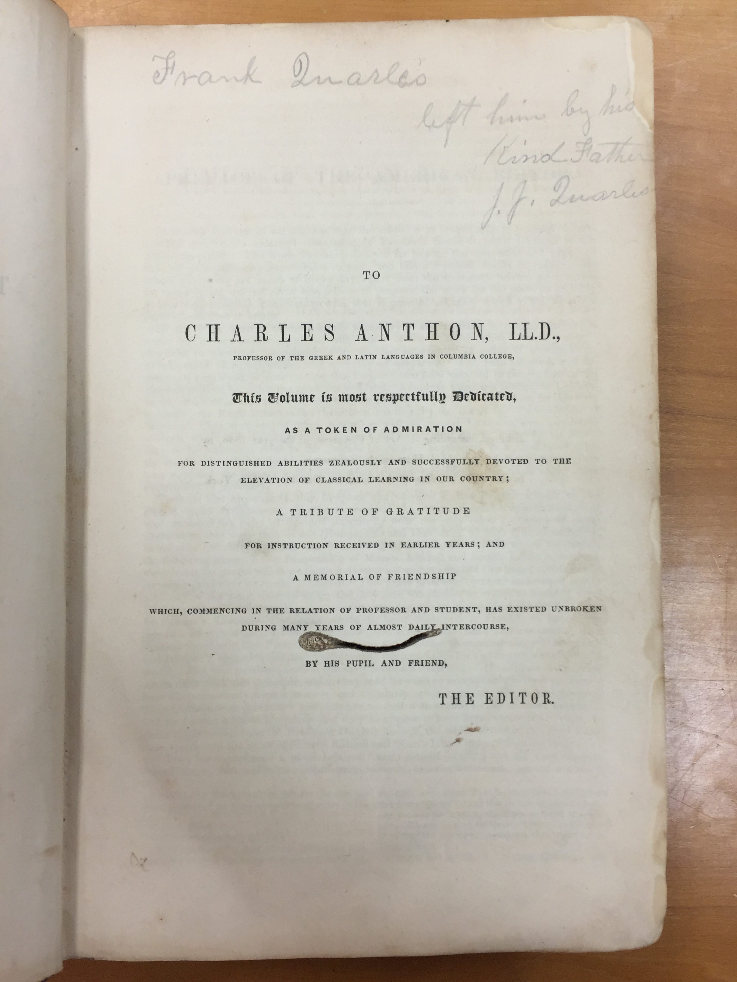 department of classics   historic greek-english dictionary